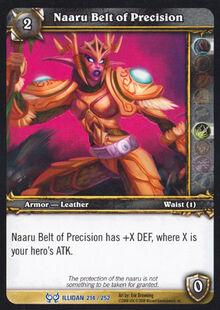 Naaru Belt of Precision TCG Card.jpg