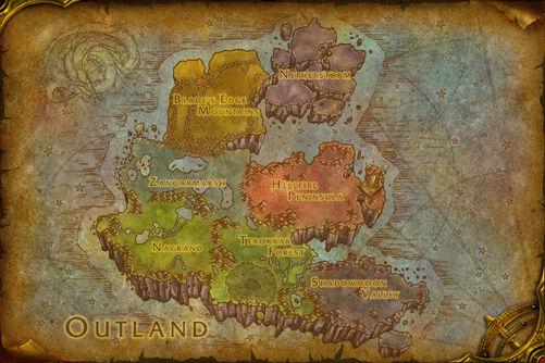 Outland map