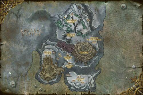 Shimmering Expanse map