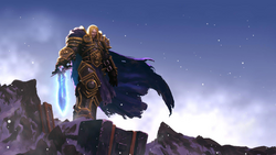 Warcraft III Reforged - Arthas taking Frostmourne.png