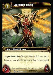 Arcanist Raith TCG Card.jpg