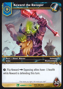 Keward the Ravager TCG Card.jpg