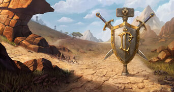 Warcraft III Reforged - Loading Screen Barrens Alliance.jpg