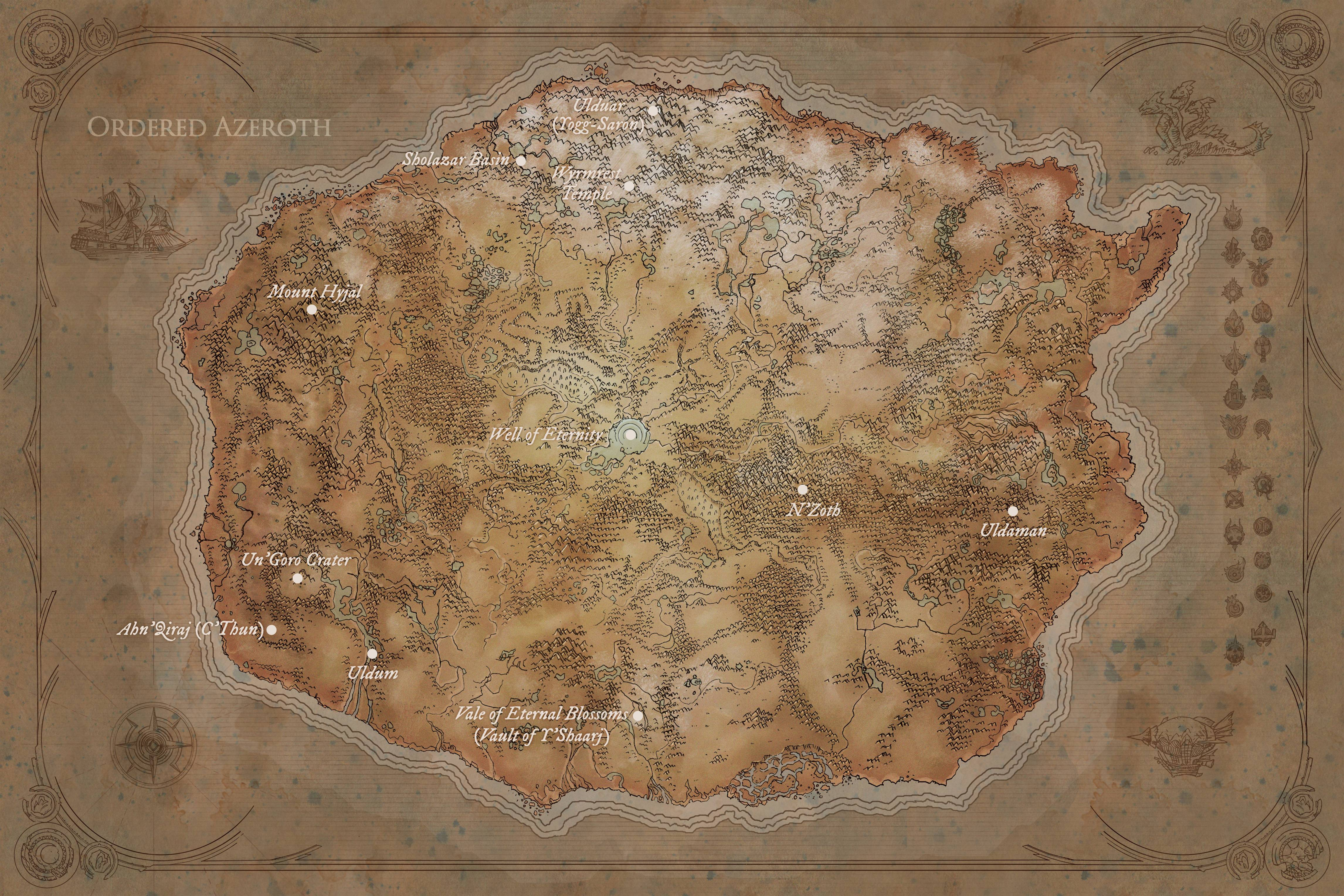 The Other Side of Azeroth from Argus - World of Warcraft Forums
