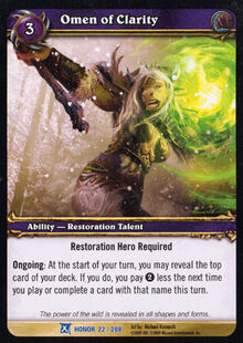 Omen of Clarity TCG Card.jpg