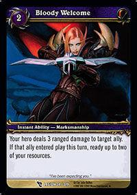 Bloody Welcome TCG Card.jpg
