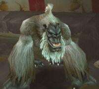 Image of Enraged Silverback Gorilla