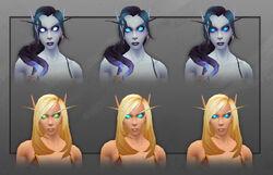 Void Elf and Blood Elf blue eyes customization female.jpg