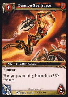 Dannon Spellsurge TCG Card.jpg