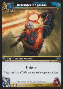 Defender Nagalaas TCG Card.jpg