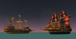 Tanaris Burning Ships to the east.jpg