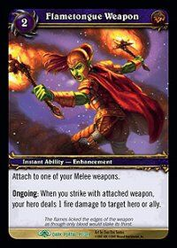 Flametongue Weapon TCG Card.JPG