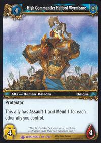 High Commander Halford Wyrmbane TCG Card.jpg
