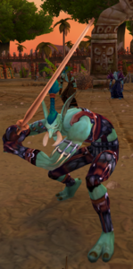 Image of Novice Darkspear Warrior