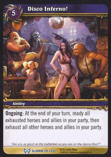 Disco Inferno! TCG Card.jpg