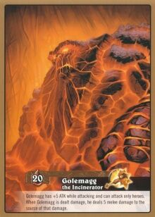 Golemagg the Incinerator TCG card back.jpg