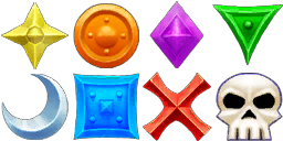 The different Raid Icons