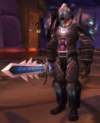 Image of Dark Touched Warrior