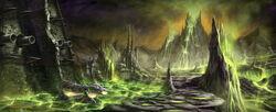 Shadowmoon Valley Concept Art Peter Lee 1.jpg