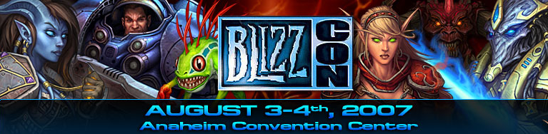 BlizzCon 2007 banner
