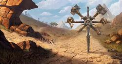 Warcraft III Reforged - Loading Screen Barrens Scourge.jpg