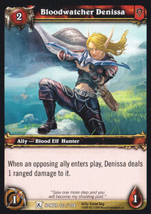 Bloodwatcher Denissa TCG Card.jpg