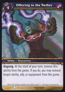 Offering to the Nether TCG Card.jpg