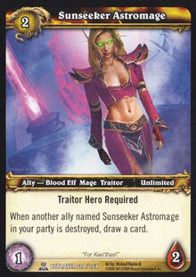 Sunseeker Astromage TCG Card.jpg