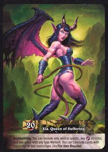 Xia, Queen of Suffering TCG Card Back.jpg