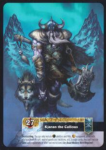 Kjaran the Callous TCG Card Back.jpg
