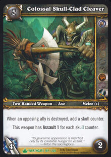 Colossal Skull-Clad Cleaver TCG Card.jpg