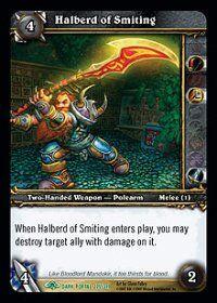 Halberd of Smiting TCG Card.JPG