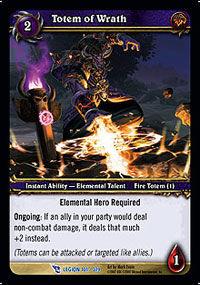 Totem of Wrath TCG Card.jpg