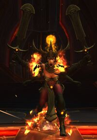 Image of Noura, Mother of Flames