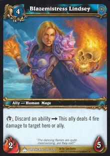 Blazemistress Lindsey TCG Card.jpg