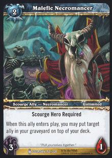 Malefic Necromancer TCG Card.jpg