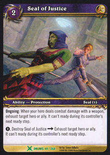 Seal of Justice TCG Card.jpg