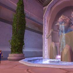 Dalaran fountain
