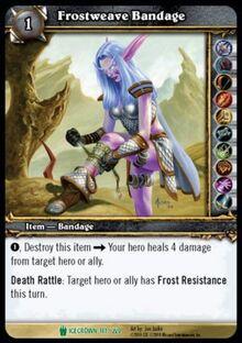 Frostweave Bandage TCG Card.jpg