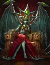 Image of Blood-Queen Lana'thel
