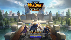 Warcraft III Reforged - The Culling demo mission screen.png