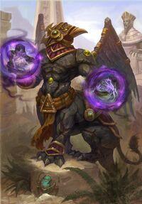 Imagen de Faraón oscuro Tekahn