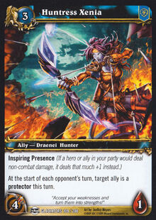 Huntress Xenia TCG Card.jpg