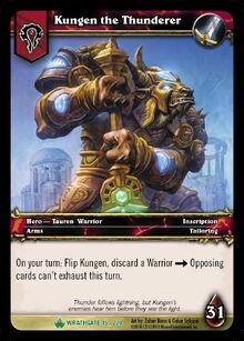 Kungen the Thunderer TCG Card.jpg