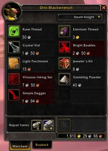 Vendor - Wowpedia - Your Wiki Guide To The World Of Warcraft