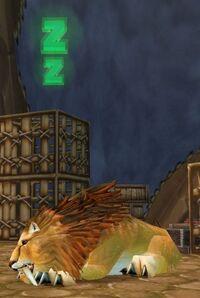 Image of Stabled Kurenai Lion