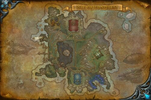 Isle of Conquest map