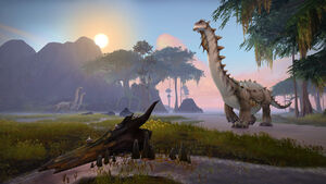 Brutosaur in Nazmir