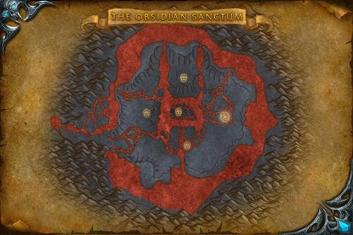 Obsidian Sanctum map