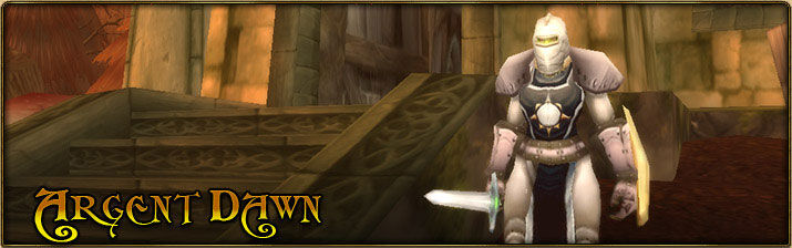2004 Game Guide's Banner for the Argent Dawn Reputation
